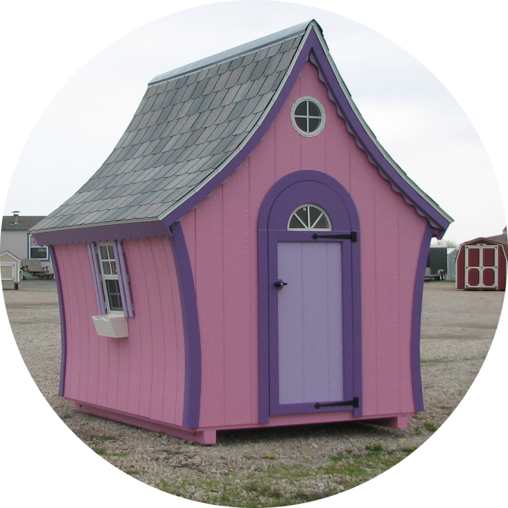 6x8 Candyland Playhouse