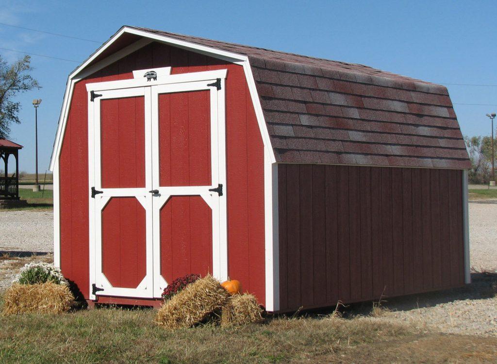 8x12 Barn Style